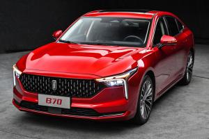 預售10.99萬起 第三代奔騰B70將于11月28日上市