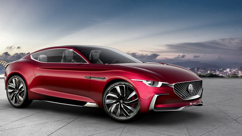 优雅英伦范儿 MG纯电动跑车将于年中正式亮相